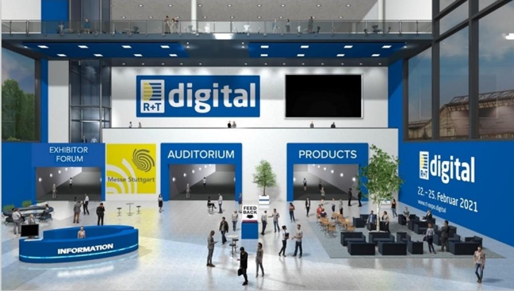 R+T digital 2021, enjoy an International Fair without taking a flight
