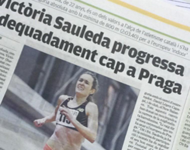 Victoria Sauleda avanza con pasos firmes hacia el europeo de Praga