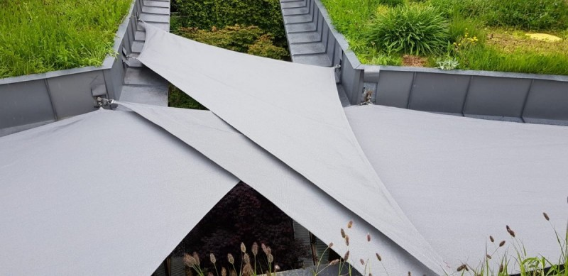 Commercial 95, the fabric designed for tension structures and shade sails