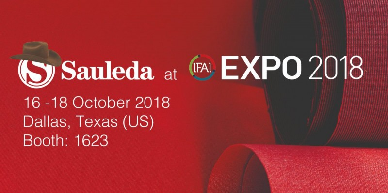 Sauleda will participate in the IFAI Expo 2018, the largest exhibition of technical fabrics in the United States