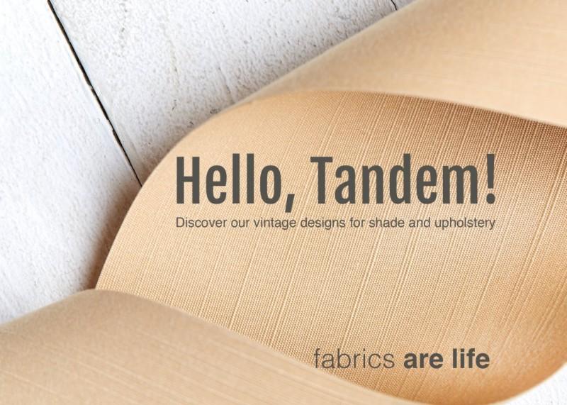 Hello Tandem! Entdecken Sie unsere neuen Vintage-Designs