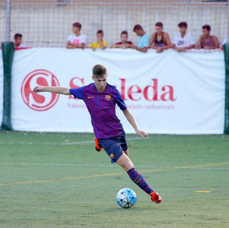 ¡Enhorabuena al RCD Espanyol, campeón de TheCup 2018! torneo de fútbol joven apoyado por Sauleda