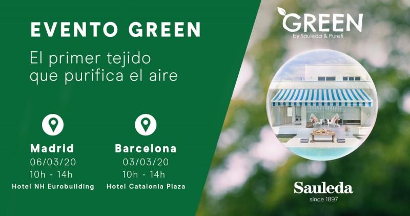 Asiste al evento GREEN en Madrid y Barcelona