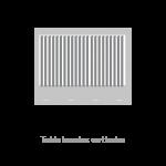 Toldo bandas verticales
