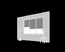 Cortina vertical interior