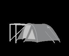 Tiendas de camping