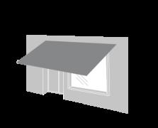 PVC awnings