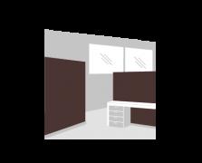 Wall coatings, dividing screens - enclosures